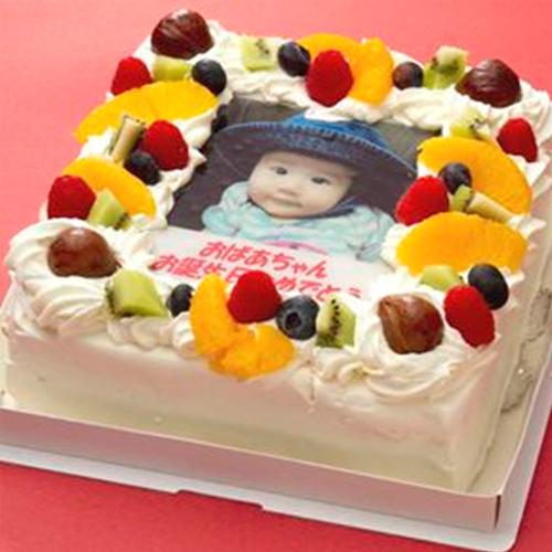 写真ケーキのコシジ